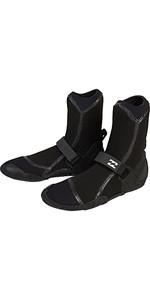 2019 Billabong Furnace Ultra 5mm Round Toe Boots Black Q4BT04