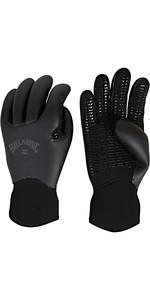 2019 Billabong Furnace Ultra 5mm Neoprene Gloves Black Q4GL35