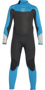 Billabong Junior Absolute 3/2mm Back Zip Wetsuit H43B01 - Turquoise
