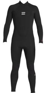 2020 Billabong Junior Boys Intruder 3/2mm Back Zip GBS Wetsuit 043B18 - Black