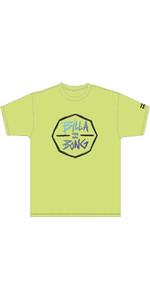 2020 Billabong Junior Boys Octo UV Surf Tee S4EQ05 - Yellow