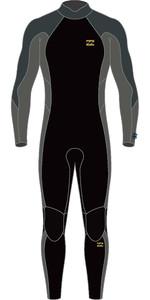 2021 Billabong Mens Absolute 3/2mm Back Zip Wetsuit W43M55 - Charcoal