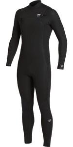 2020 Billabong Mens Absolute 4/3mm Chest Zip GBS Wetsuit U44M60 - Black