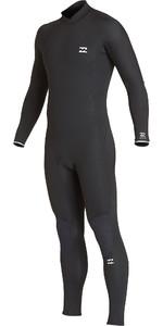 2019 Billabong Mens Furnace Absolute 4/3mm Back Zip Wetsuit Black Q44M10