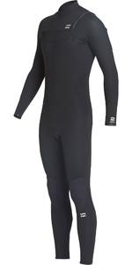 2020 Billabong Mens Furnace Absolute 4/3mm Chest Zip Wetsuit Black Q44M09