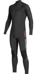 2019 Billabong Mens Furnace Absolute 5/4mm Chest Zip Wetsuit Camo Q45M09
