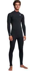 2019 Billabong Mens Furnace Comp 3/2mm Chest Zip Wetsuit Black Q43M03