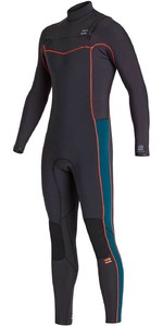 2020 Billabong Mens Furnace Revolution 3/2mm Chest Zip Wetsuit S43M53 - Antique Black