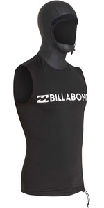 2019 Billabong Mens Furnace Thermal Hooded Vest Black Q4PY06