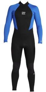 2020 Billabong Mens Intruder 4/3mm Back Zip GBS Wetsuit 044M18 - Blue