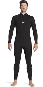 2021 Billabong Mens Intruder 4/3mm Back Zip GBS Wetsuit 044M18 - Black