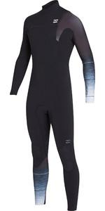 2019 Billabong Mens 3/2mm Pro Series Chest Zip Wetsuit Black / Fade N43M01