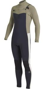2021 Billabong Mens Revolution 5/4mm Chest Zip Wetsuit U45M55 - Navy
