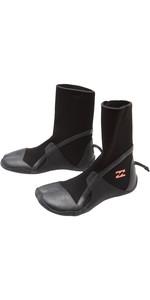 2021 Billabong Synergy Womens 3mm Hidden Split Toe Wetsuit Boot Z4BT40 - Black