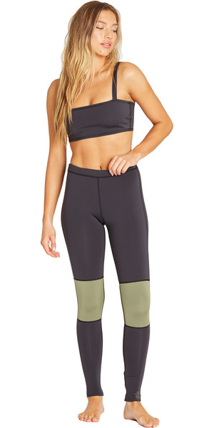 2019 Billabong Womens 1mm Neoprene Sea Legs Black Olive N41G03