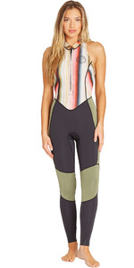 2019 Billabong Womens 2mm Salty Jane Sleeveless Wetsuit Serape N42G01