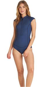 Billabong Womens Captain 1mm Sleeveless Spring Wetsuit Blue Swell L41G01