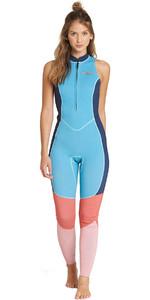 Billabong Womens Salty Jane 2mm Sleeveless Wetsuit Beach Blue L42G01