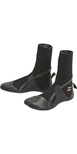 2020 Billabong Womens Synergy 5mm Hidden Split Toe Boots U4BT32 - Black