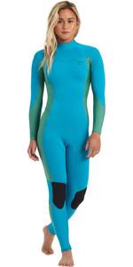 2020 Billabong Womens Synergy 3/2mm Back Zip GBS Wetsuit U43G36 - Deep Sea