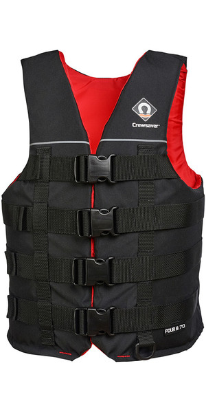 2018 Crewsaver Four B 70N Buoyancy Aid / Ski Vest Black 2975