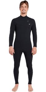 2019 Billabong Mens Furnace Carbon Comp 3/2mm Zipperless Wetsuit Black L43M03