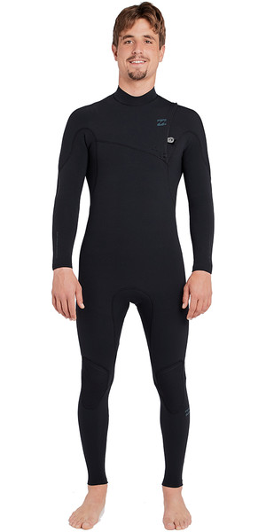 2018 Billabong Furnace Carbon Comp 5/4mm Ziperless Wetsuit Black L45M04