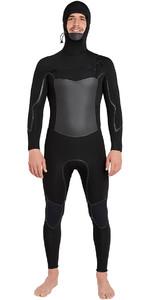 2018 Billabong Furnace Absolute X Hooded 5/4mm Chest Zip Wetsuit Black L45M08