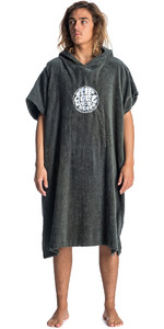 2019 Rip Curl Hooded Changing Robe / Poncho Grey CTWAI4