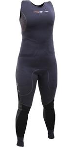 2019 Gul Womens Code Zero Elite 3mm BS Long Jane Impact Wetsuit Black CZ4216-B5