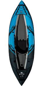 2020 Aquaglide Chinook 90 1 Man Kayak Blue - Kayak Only