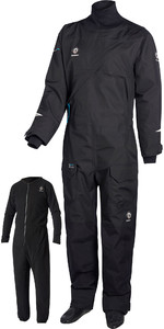 2020 Crewsaver Junior Atacama Pro Drysuit INCLUDING UNDERSUIT BLACK 6556J