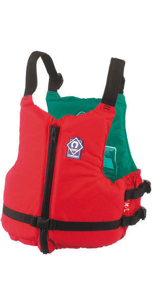 2018 Crewsaver Centre 70N Zip Buoyancy Aid RED 2359 Colour Coded inside per size