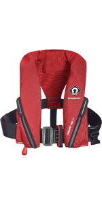 2021 Crewsaver Crewfit 150N Junior Lifejacket Auto With Harness 9705RA - Red