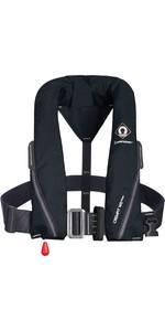 2021 Crewsaver Crewfit 165N Sport Automatic Harness Lifejacket 9715BLA - Black