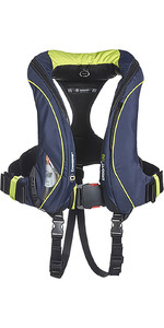 2020 Crewsaver ErgoFit+ 290N Hammar Lifejacket With Harness, Light & Hood Navy 9165NBGHP