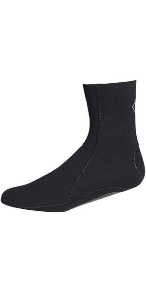 2019 Crewsaver Junior Slate 3mm neoprene wetsuit Sock - BLACK 6946