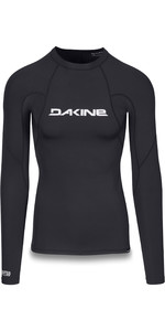 2019 Dakine Mens Heavy Duty Snug Fit Long Sleeve Rash Vest Black 10002280