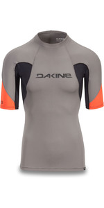 2019 Dakine Mens Heavy Duty Snug Fit Short Sleeve Rash Vest Carbon 10002281