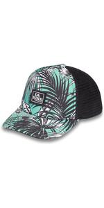 2019 Dakine Lo Tide Trucker Hat 10001898 - Turquoise Palm