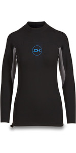 2019 Dakine Long Sleeve 1mm Flatlock Neoprene Top Black 10002256