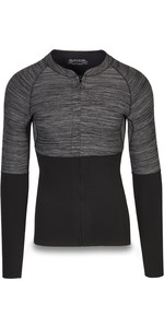 2019 Dakine Mens Long Sleeve 2mm Front Zip Neoprene Top Black 10002258