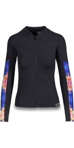 2019 Dakine Womens Persuasive Long Sleeve Snug Fit Rash Vest Kassia 10002335