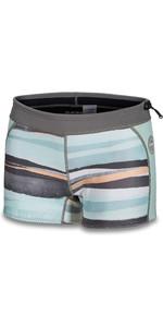 2019 Dakine Womens 1mm Neoprene Boy Shorts 10002324 - Pastel Current