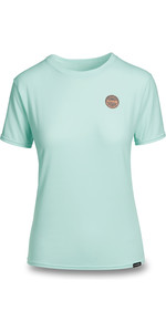 2019 Dakine Womens Dauntless Loose Fit Short Sleeve Rash Vest Pastel Heather 10002327