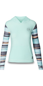 2019 Dakine Womens Flow Loose Fit Hooded Long Sleeve Rash Vest Pastel 10002328