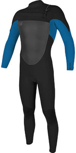 O'Neill O'riginal 3/2mm Chest Zip Wetsuit BLACK / Deep Sea 5011