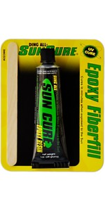 Ding All Repair Kit Sun Cure Epoxy Fiberfill 1oz