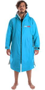 2019 Dryrobe Advance Long Sleeve Premium Outdoor Change Robe DR104 SKY / GREY