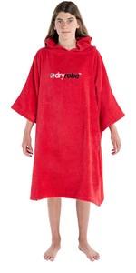 2021 Dryrobe Junior Organic Cotton Towel Robe - Red